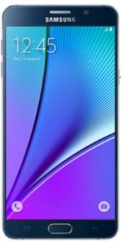 Samsung Galaxy Note 5-Black-Pristine  -64GB