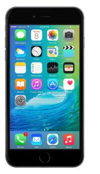 Apple iPhone 6 Plus-Black-Pristine  -64GB