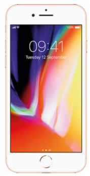 Apple iPhone 8-Rose Gold-Pristine  -256GB