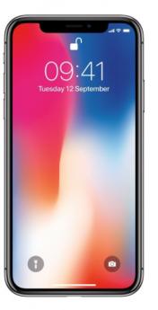 Apple iPhone X-Black-64GB-Very Good