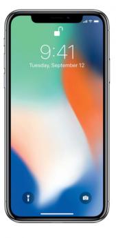 Apple iPhone X-White-64GB-Very Good