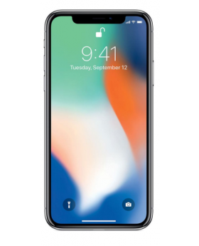 Apple iPhone X 256GB Silver-Pristine
