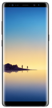 Galaxy Note 8-Black-Pristine  -128GB