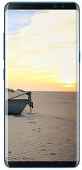 Galaxy Note 8-Blue-Pristine  -64GB