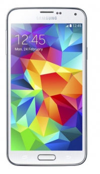 Samsung Galaxy S5-White-16GB-Very Good