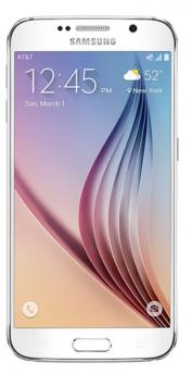 Samsung Galaxy  S6 Edge-White-Pristine  -32GB