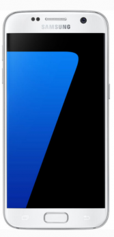 Samsung Galaxy S7 Edge-White-Pristine  -32GB