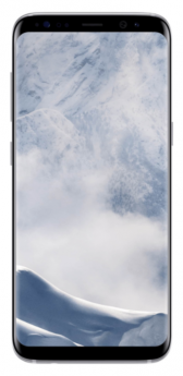 Samsung Galaxy S8-Silver-Pristine  -64GB