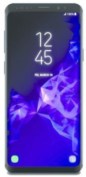 Samsung Galaxy S9-Blue-Pristine  -64GB